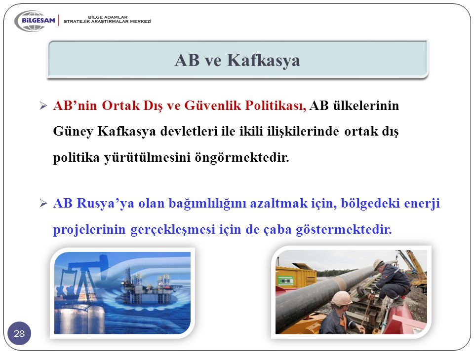 AB ve Kafkasya
