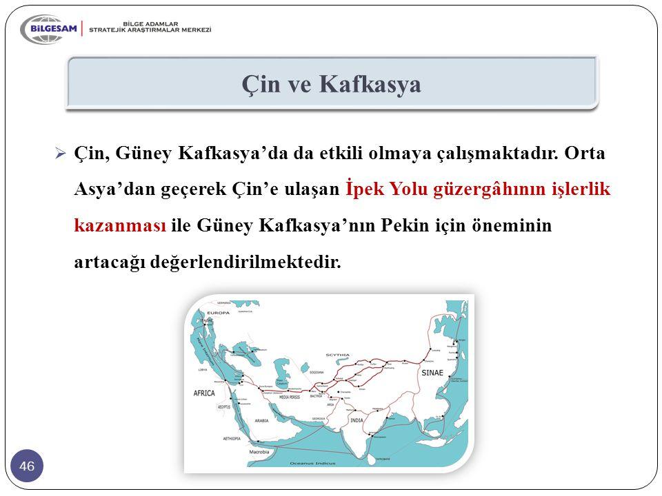 Çin ve Kafkasya