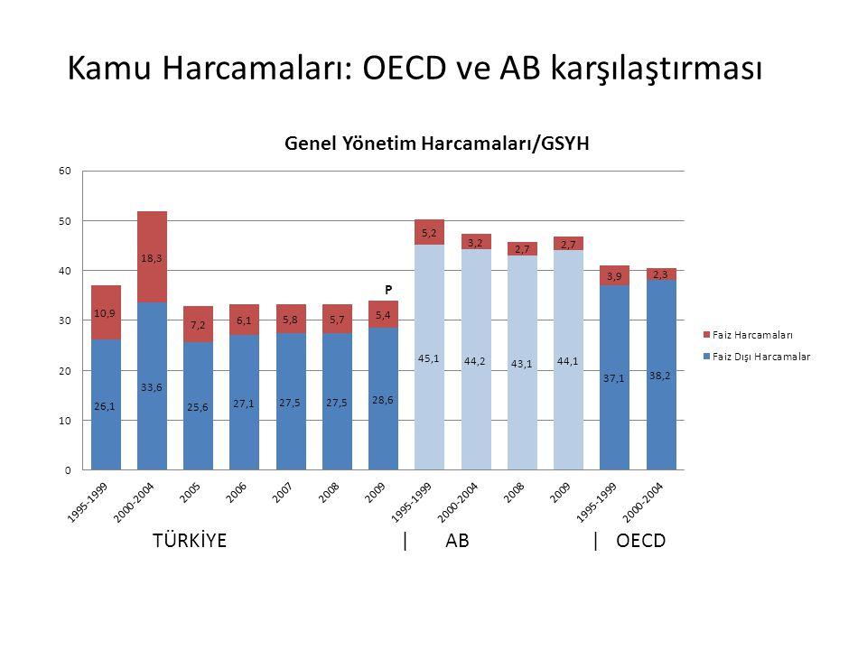 Kamu Harcamaları: OECD ve AB karşılaştırması
