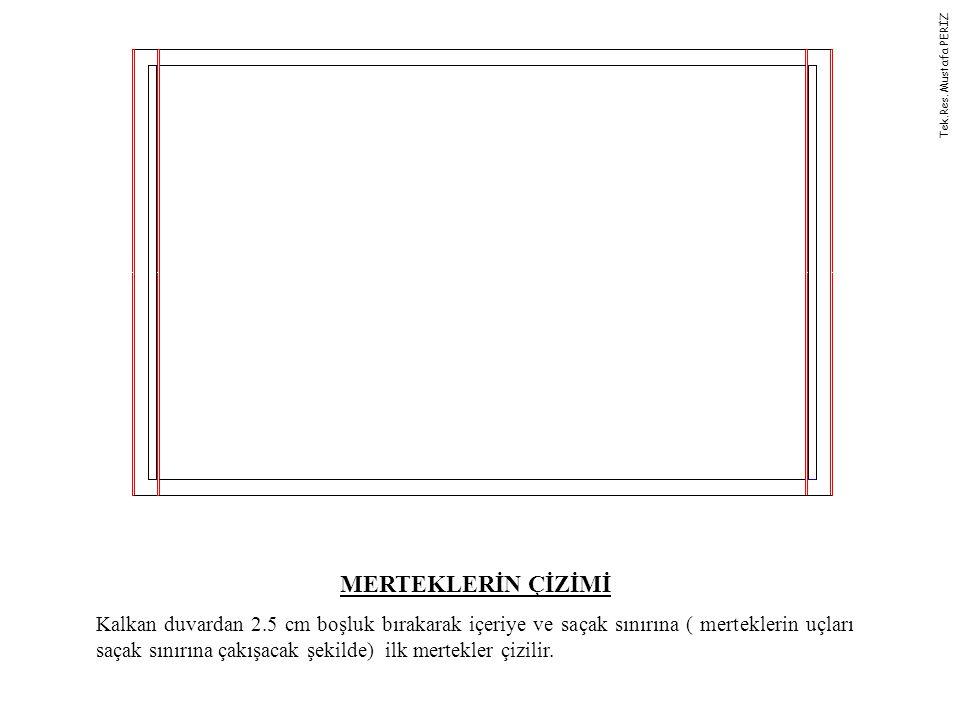Tek.Res. Mustafa PERİZ MERTEKLERİN ÇİZİMİ.