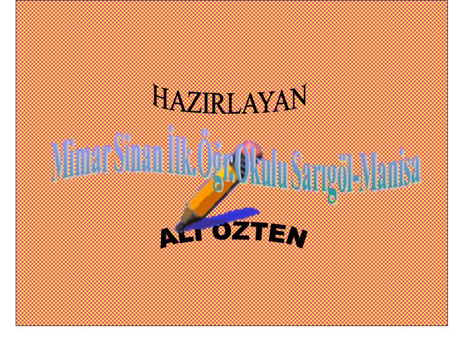 Mimar Sinan İlk.Öğr.Okulu Sarıgöl-Manisa