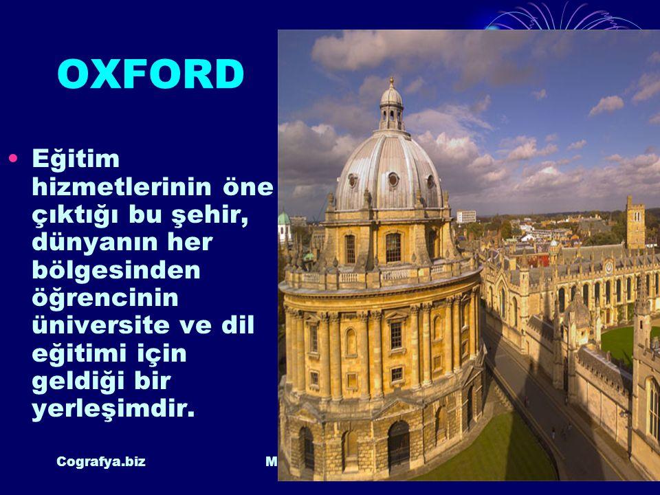 OXFORD Eğitim hizmetlerinin öne çıktığı bu şehir, dünyanın her bölgesinden öğrencinin üniversite ve dil eğitimi için geldiği bir yerleşimdir.