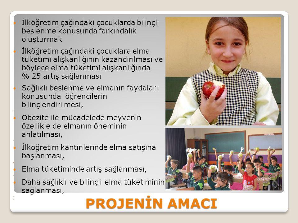 İlköğretim çağındaki çocuklarda bilinçli beslenme konusunda farkındalık oluşturmak