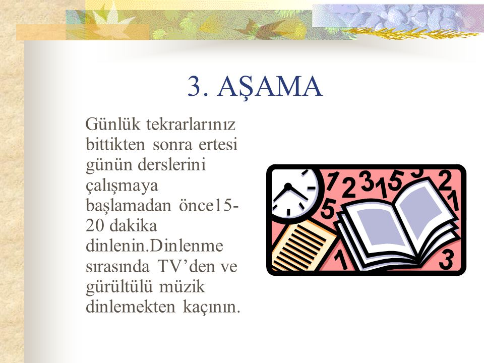 3. AŞAMA