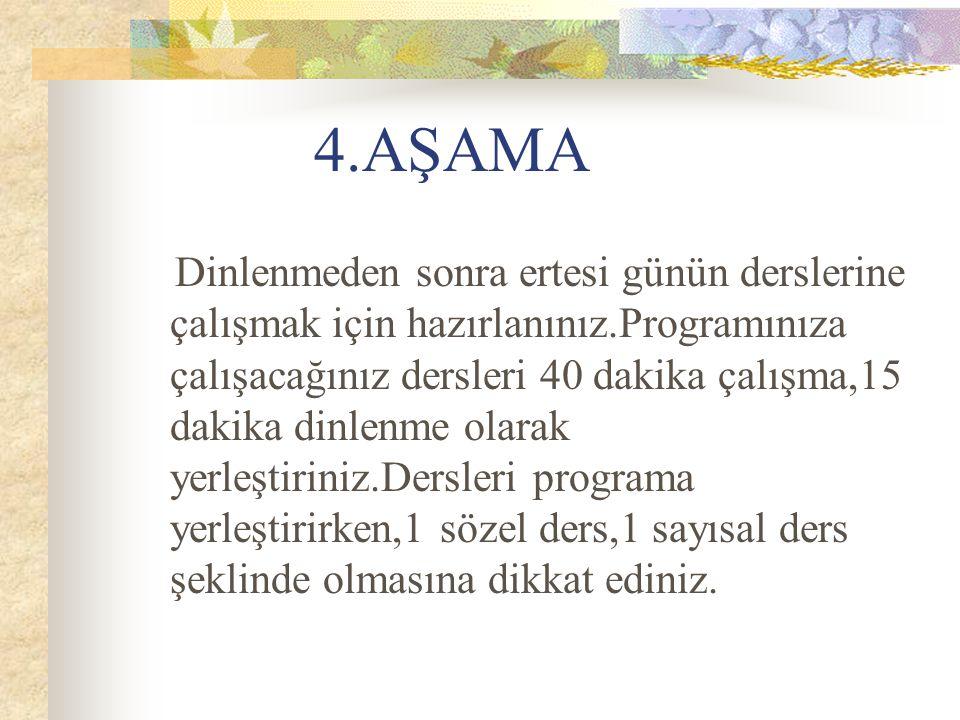 4.AŞAMA