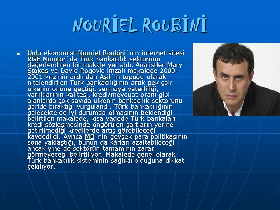 NOURİEL ROUBİNİ