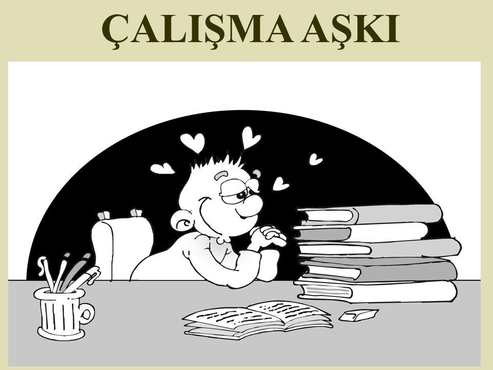 ÇALIŞMA AŞKI