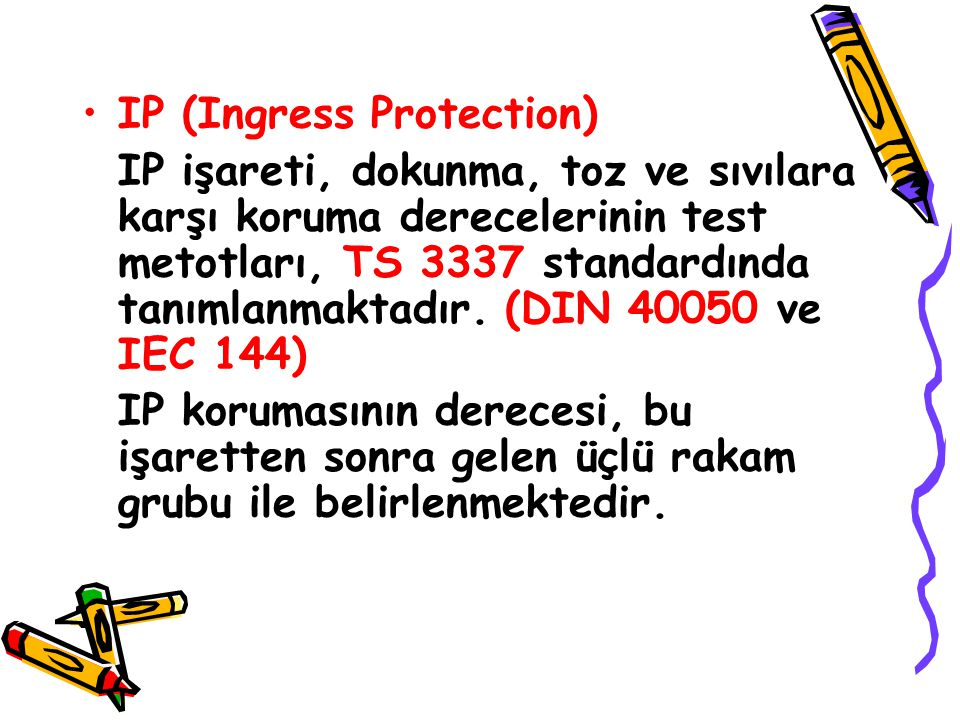IP (Ingress Protection)