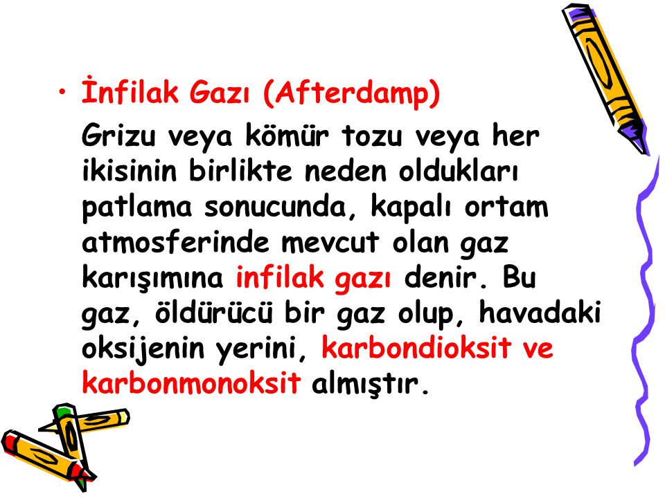 İnfilak Gazı (Afterdamp)