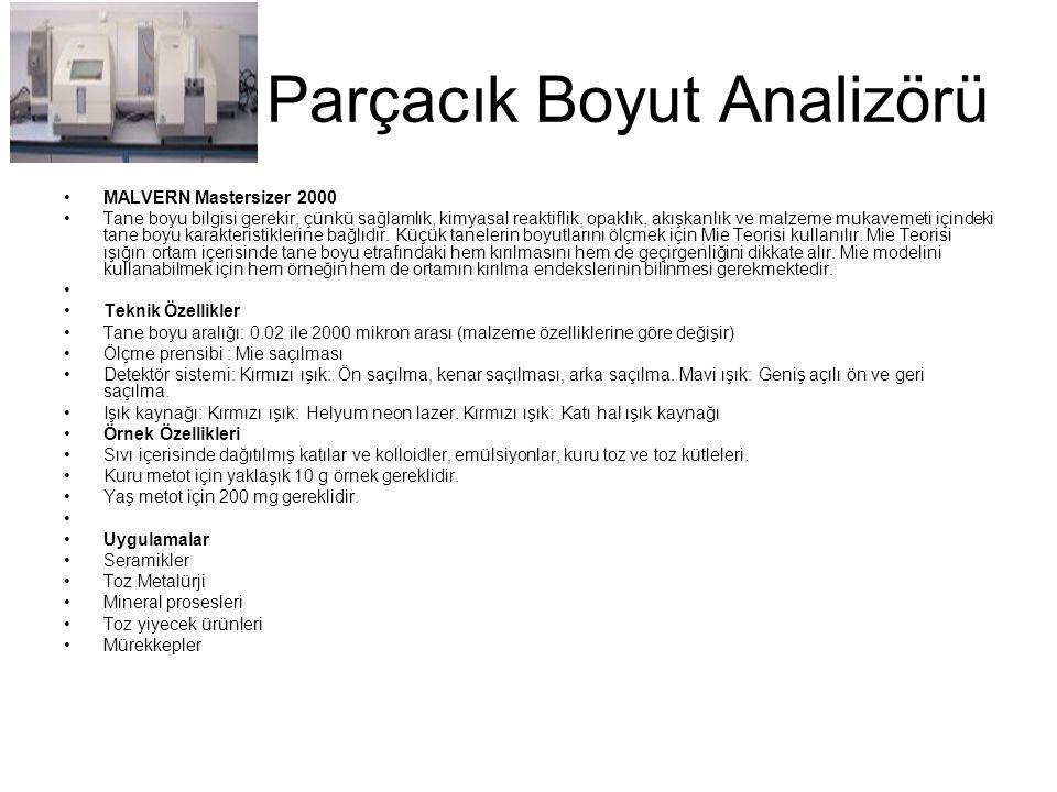 Parçacık Boyut Analizörü