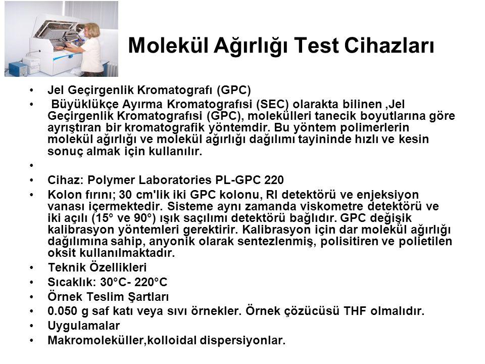 Molekül Ağırlığı Test Cihazları