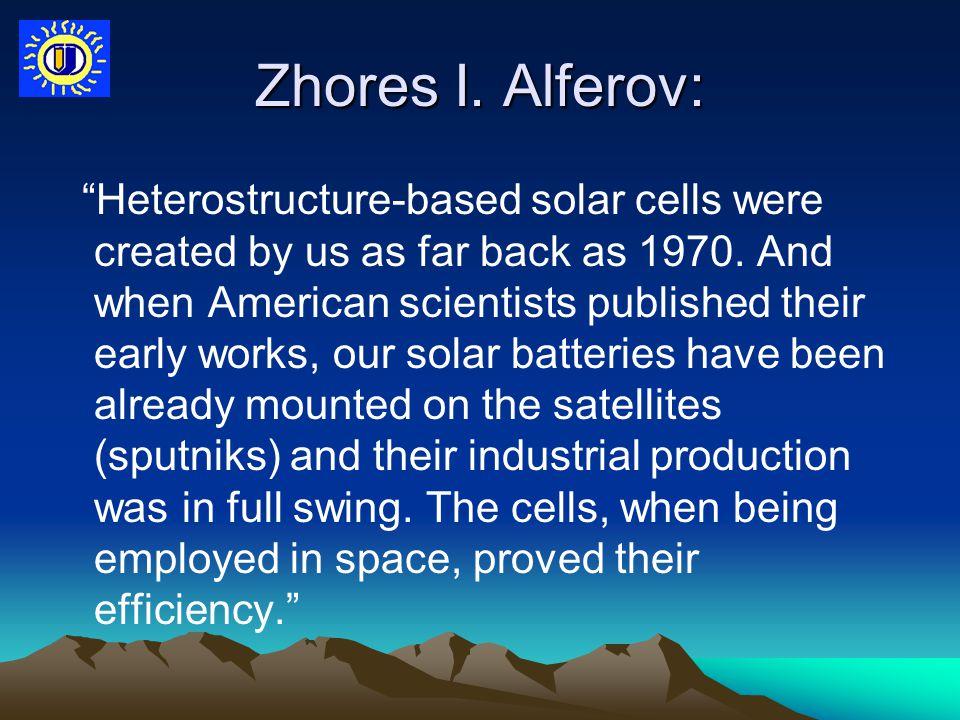 Zhores I. Alferov: