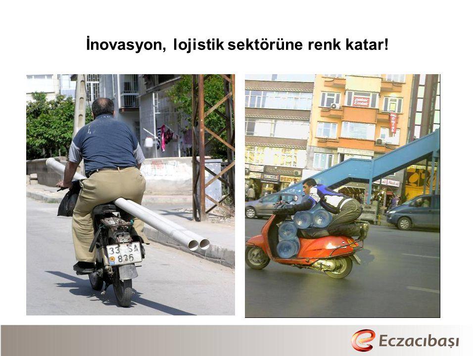 İnovasyon, lojistik sektörüne renk katar!