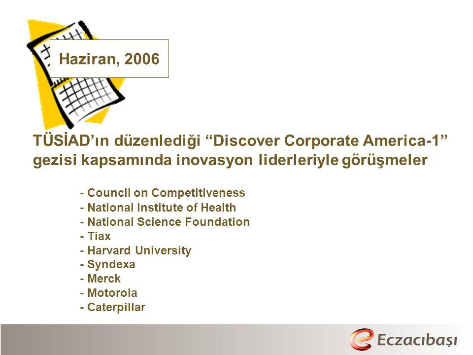 TÜSİAD'ın düzenlediği Discover Corporate America-1