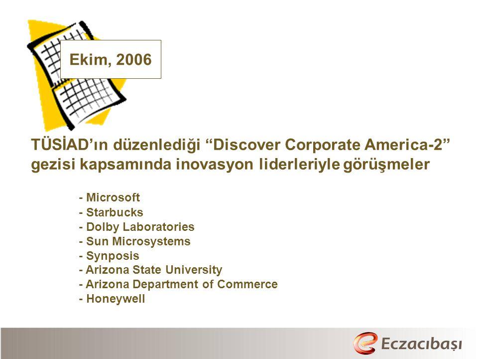 TÜSİAD'ın düzenlediği Discover Corporate America-2