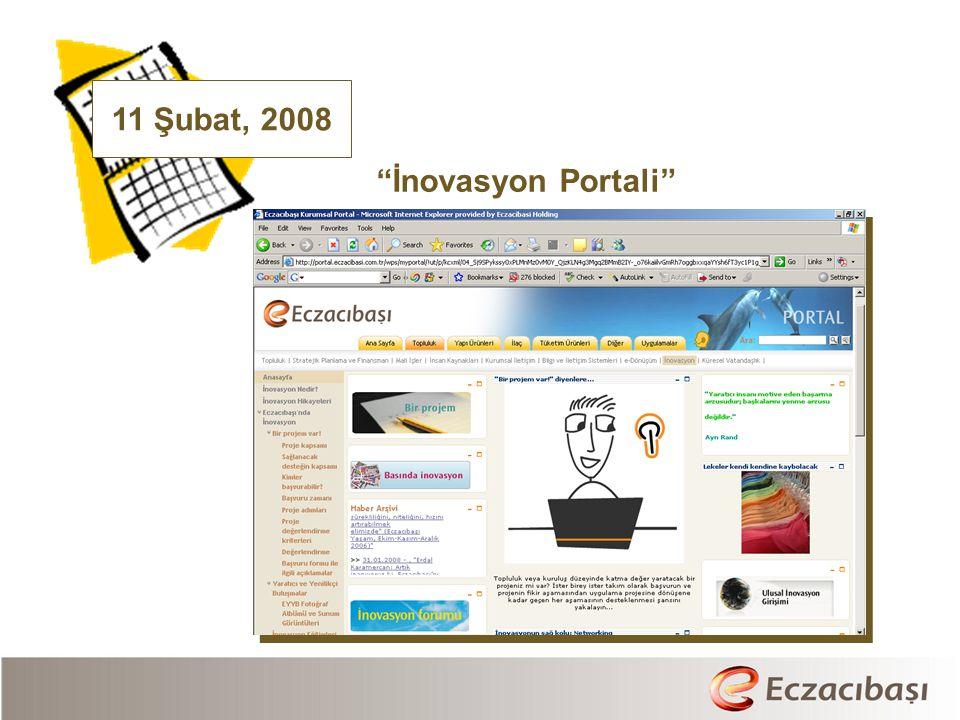 11 Şubat, 2008 İnovasyon Portali
