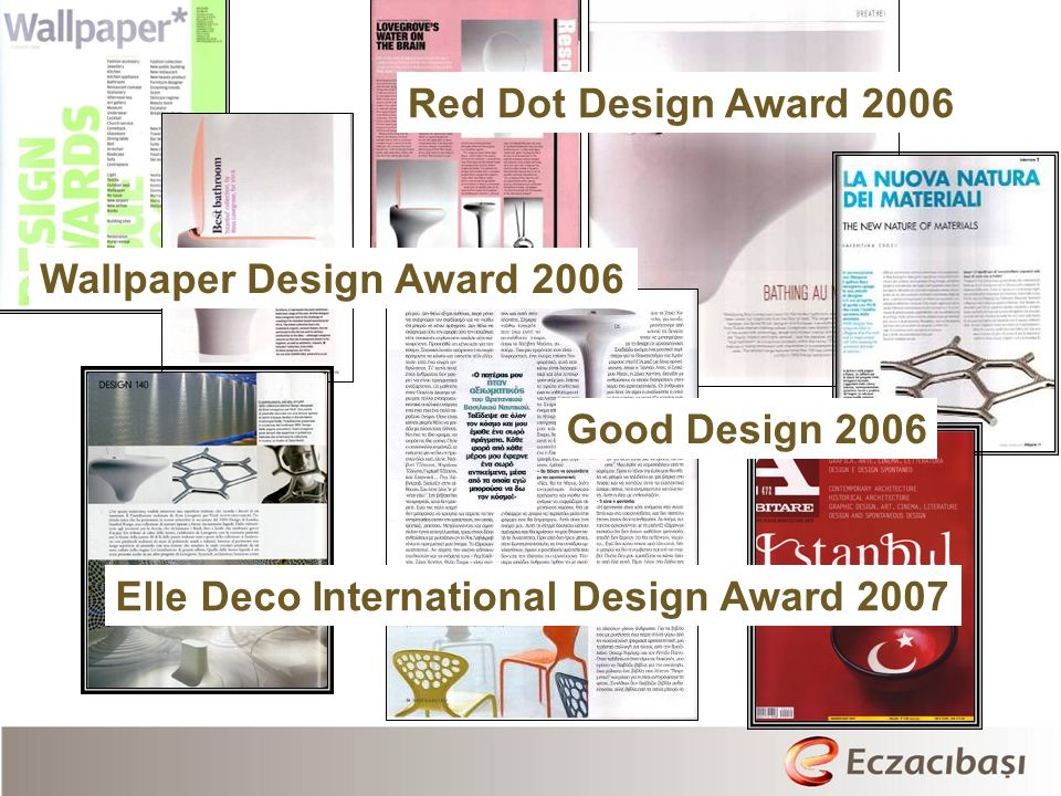 Red Dot Design Award 2006 Wallpaper Design Award 2006.
