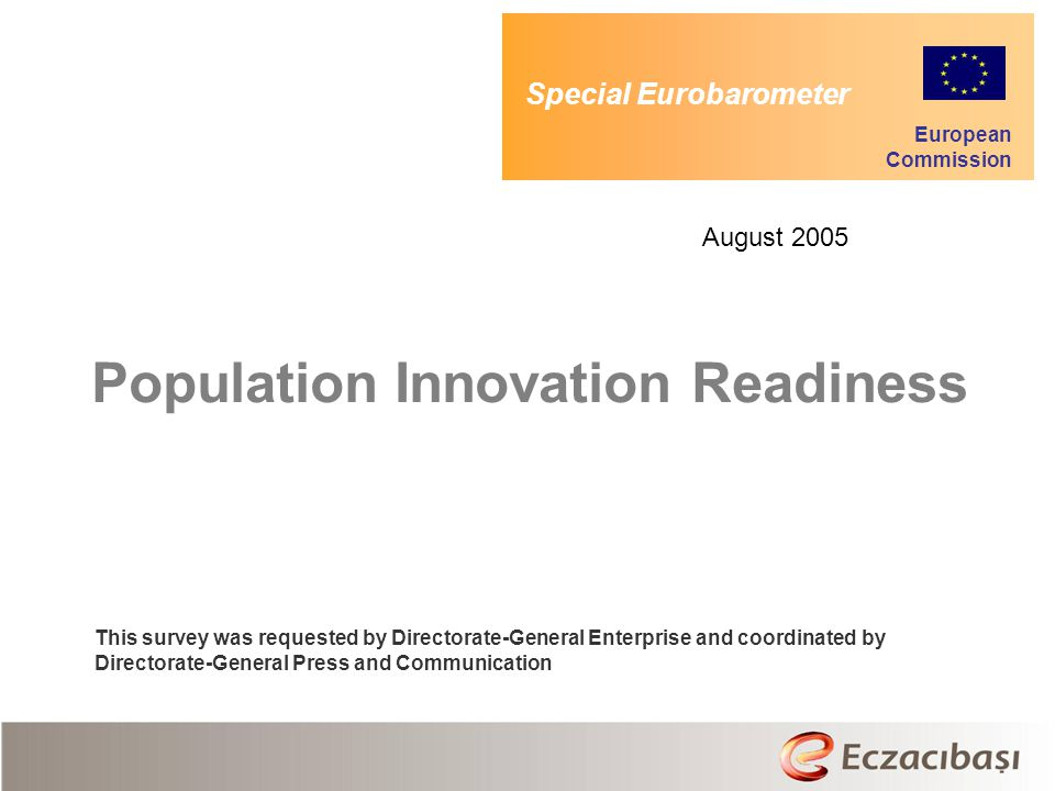 Population Innovation Readiness