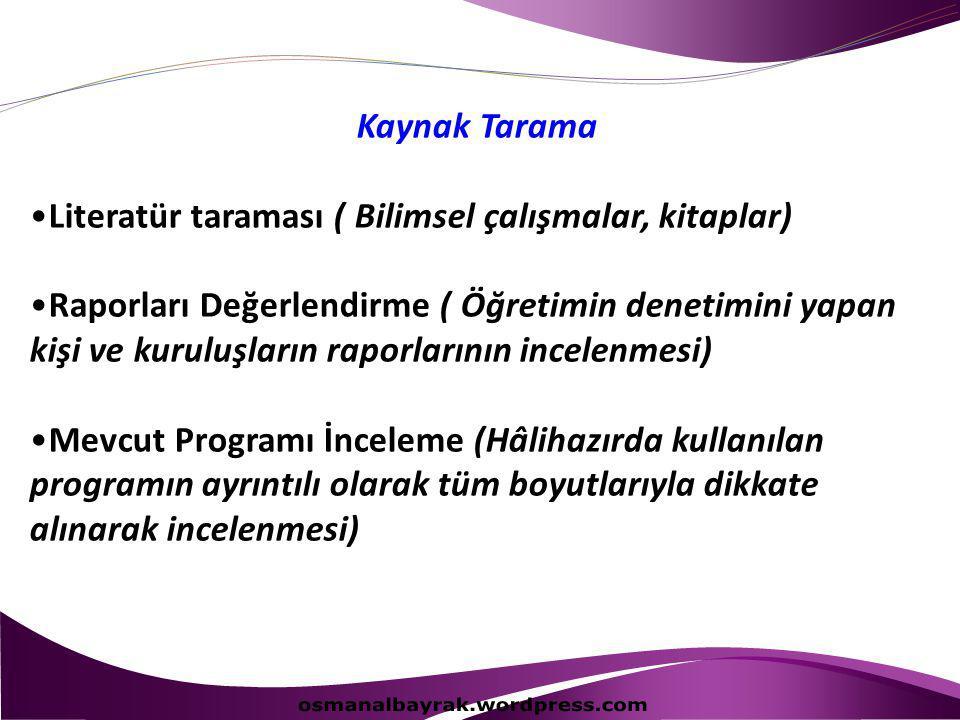 osmanalbayrak.wordpress.com Kaynak Tarama