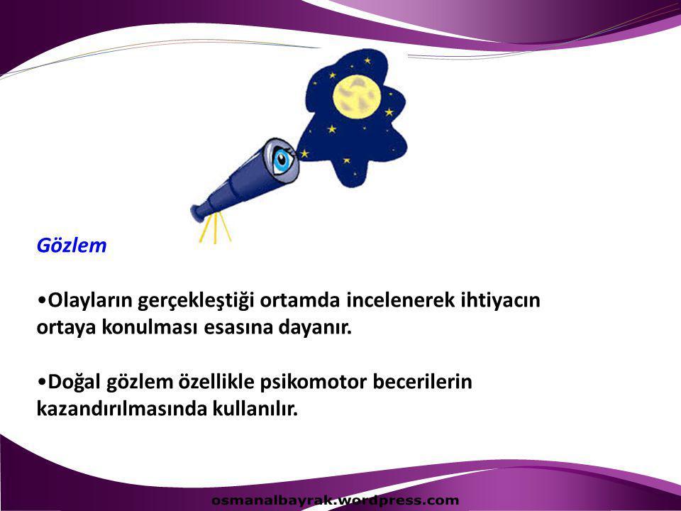 osmanalbayrak.wordpress.com Gözlem