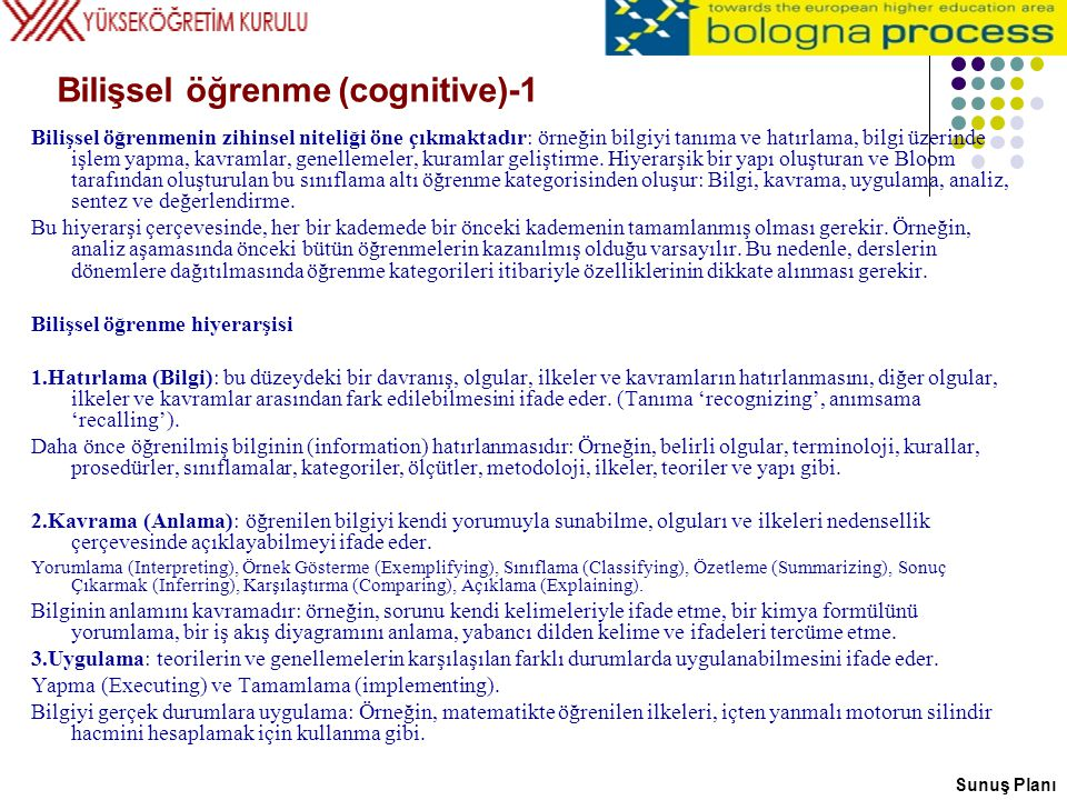 Bilişsel öğrenme (cognitive)-1