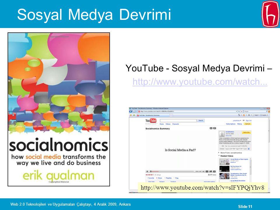 YouTube - Sosyal Medya Devrimi –