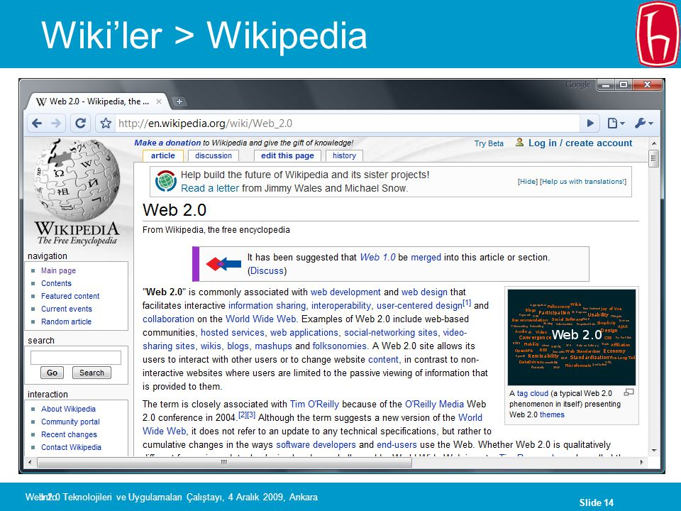 Wiki'ler > Wikipedia