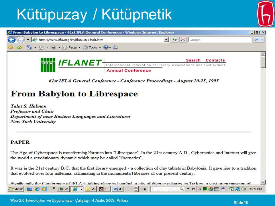 Kütüpuzay / Kütüpnetik