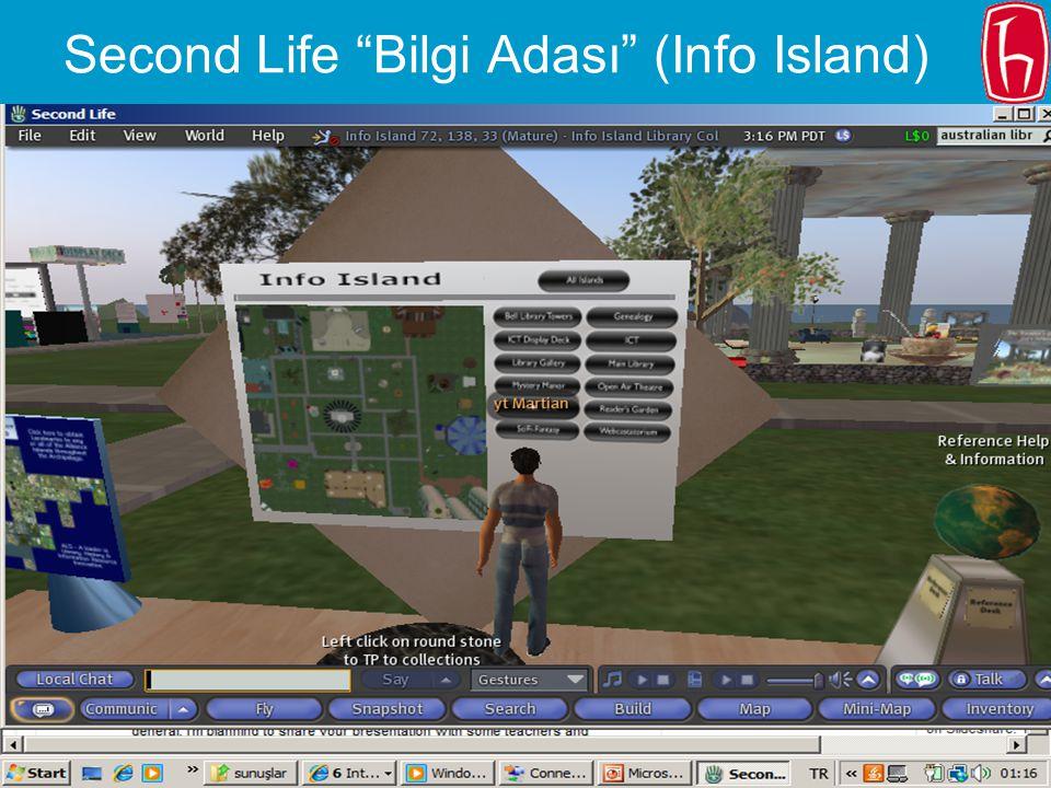 Second Life Bilgi Adası (Info Island)