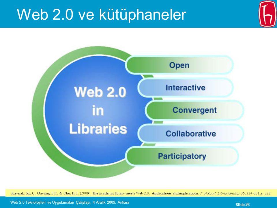Web 2.0 ve kütüphaneler
