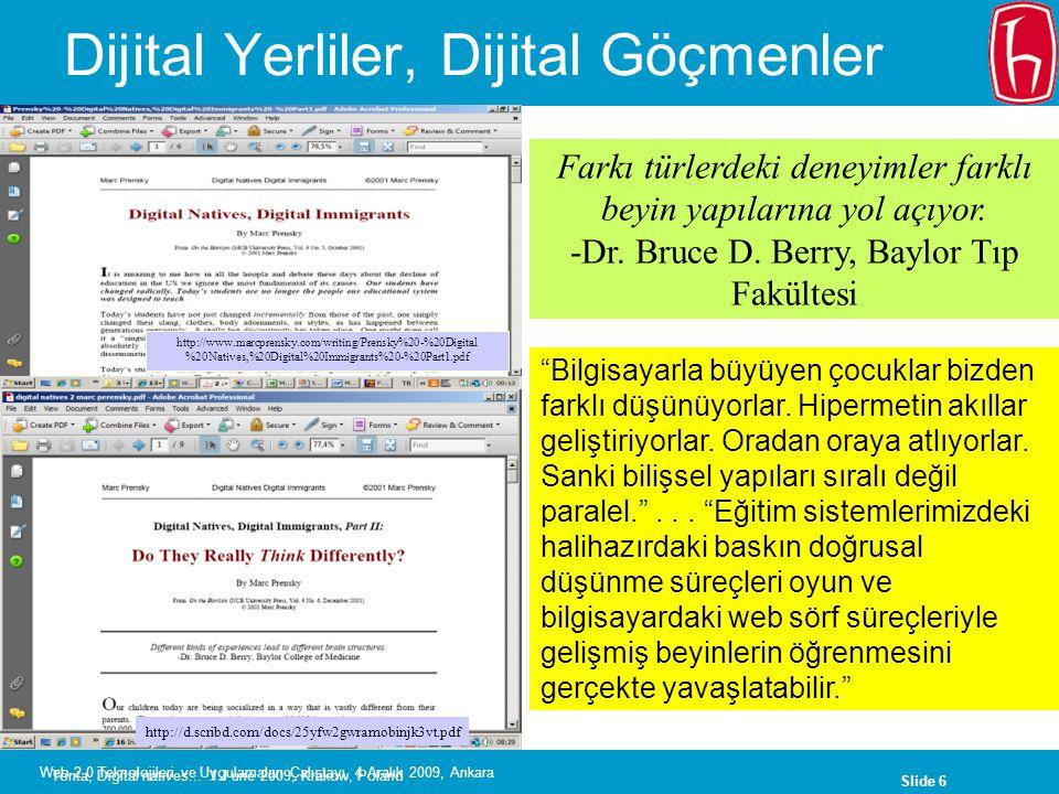 Dijital Yerliler, Dijital Göçmenler