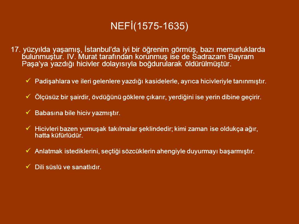 NEFİ(1575-1635)