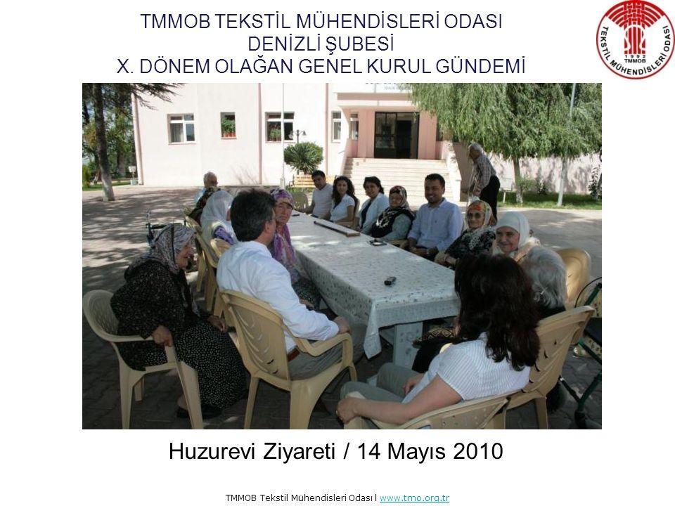 Huzurevi Ziyareti / 14 Mayıs 2010