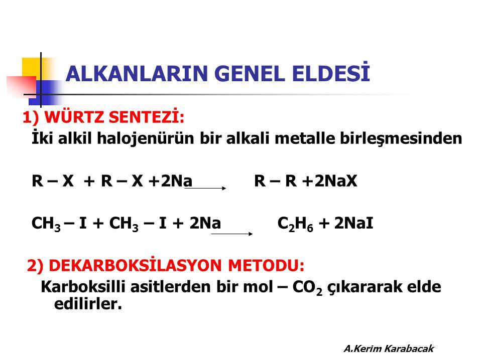 ALKANLARIN GENEL ELDESİ