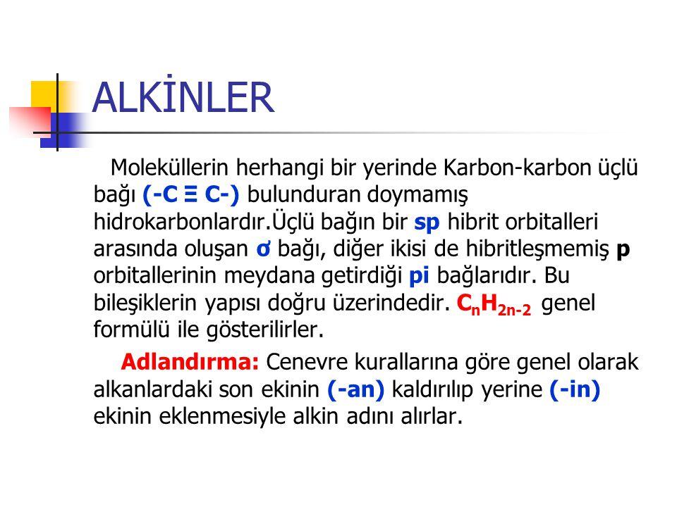 ALKİNLER