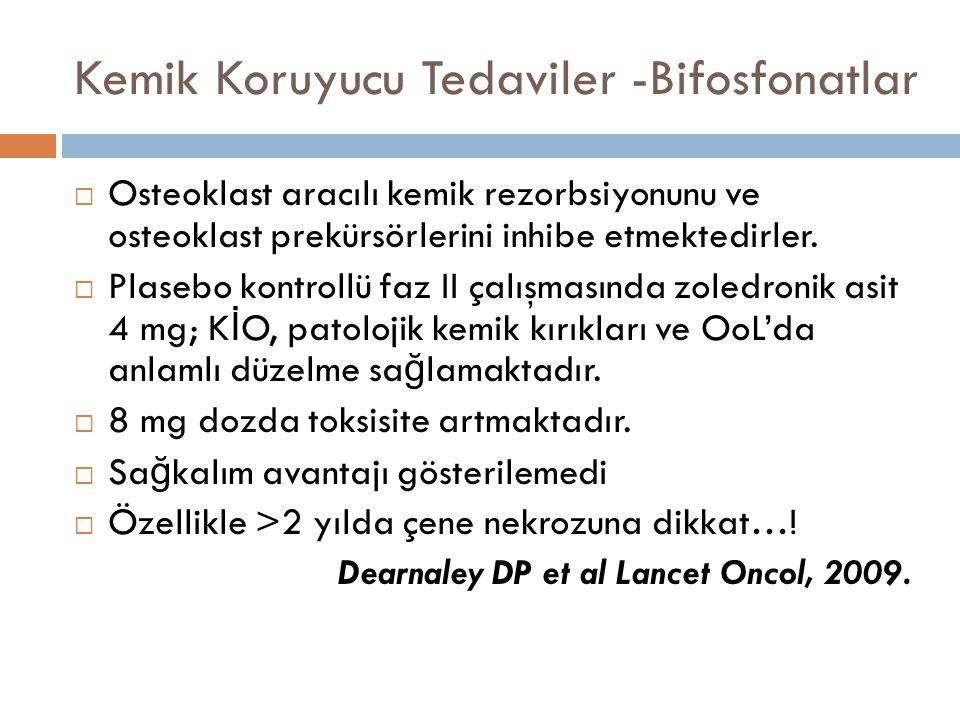 Kemik Koruyucu Tedaviler -Bifosfonatlar