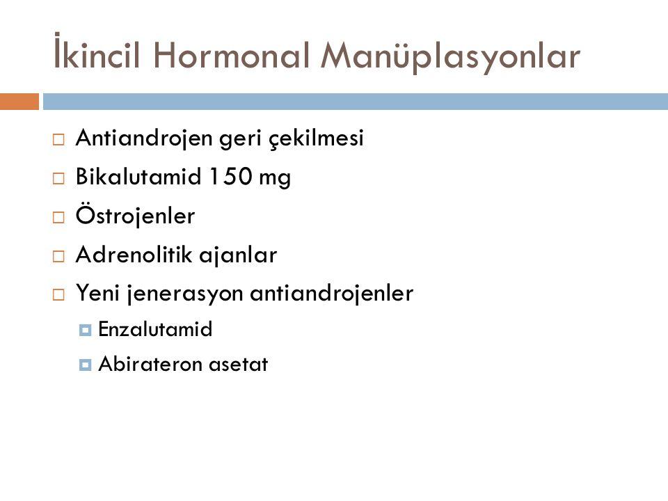 İkincil Hormonal Manüplasyonlar