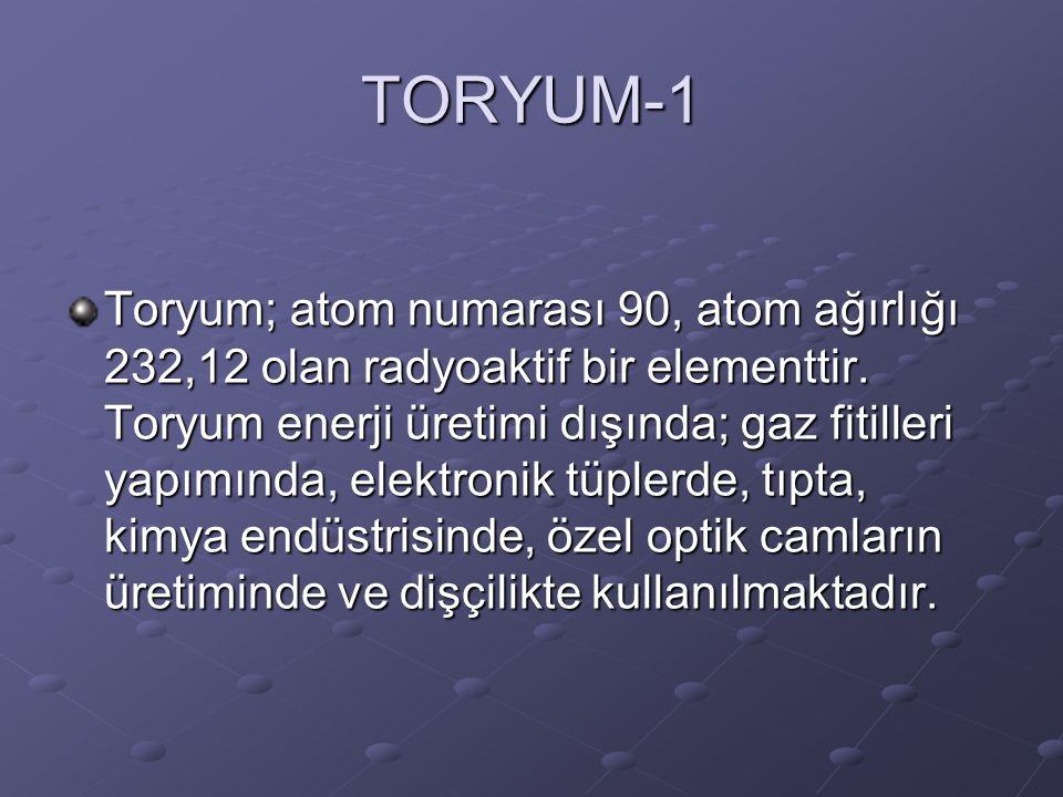 TORYUM-1