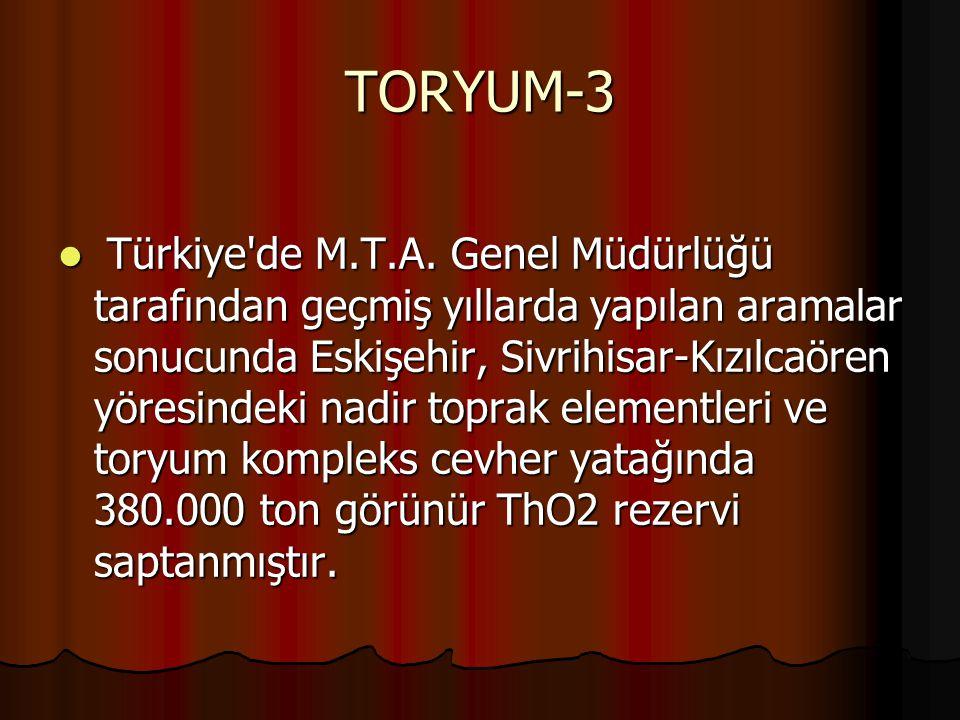 TORYUM-3