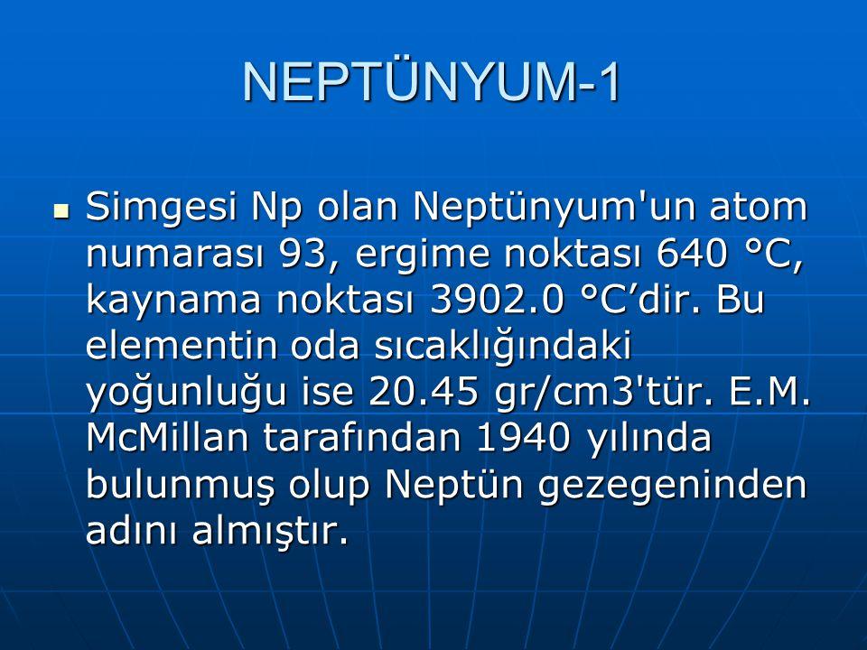 NEPTÜNYUM-1