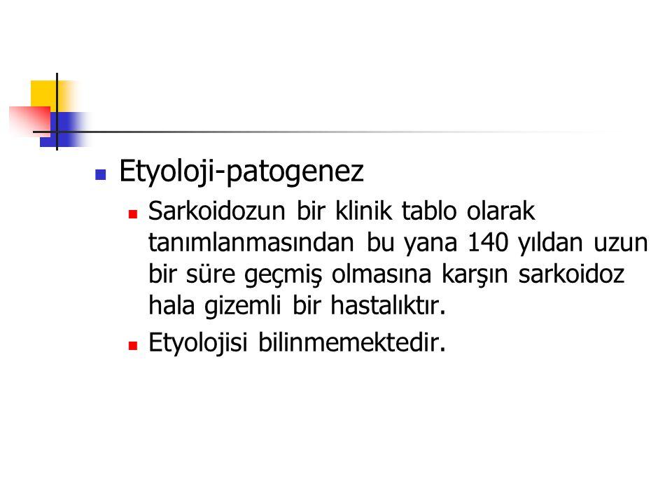 Etyoloji-patogenez