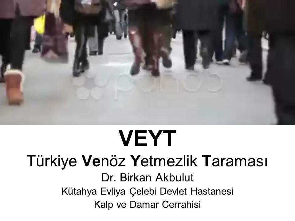 VEYT Türkiye Venöz Yetmezlik Taraması