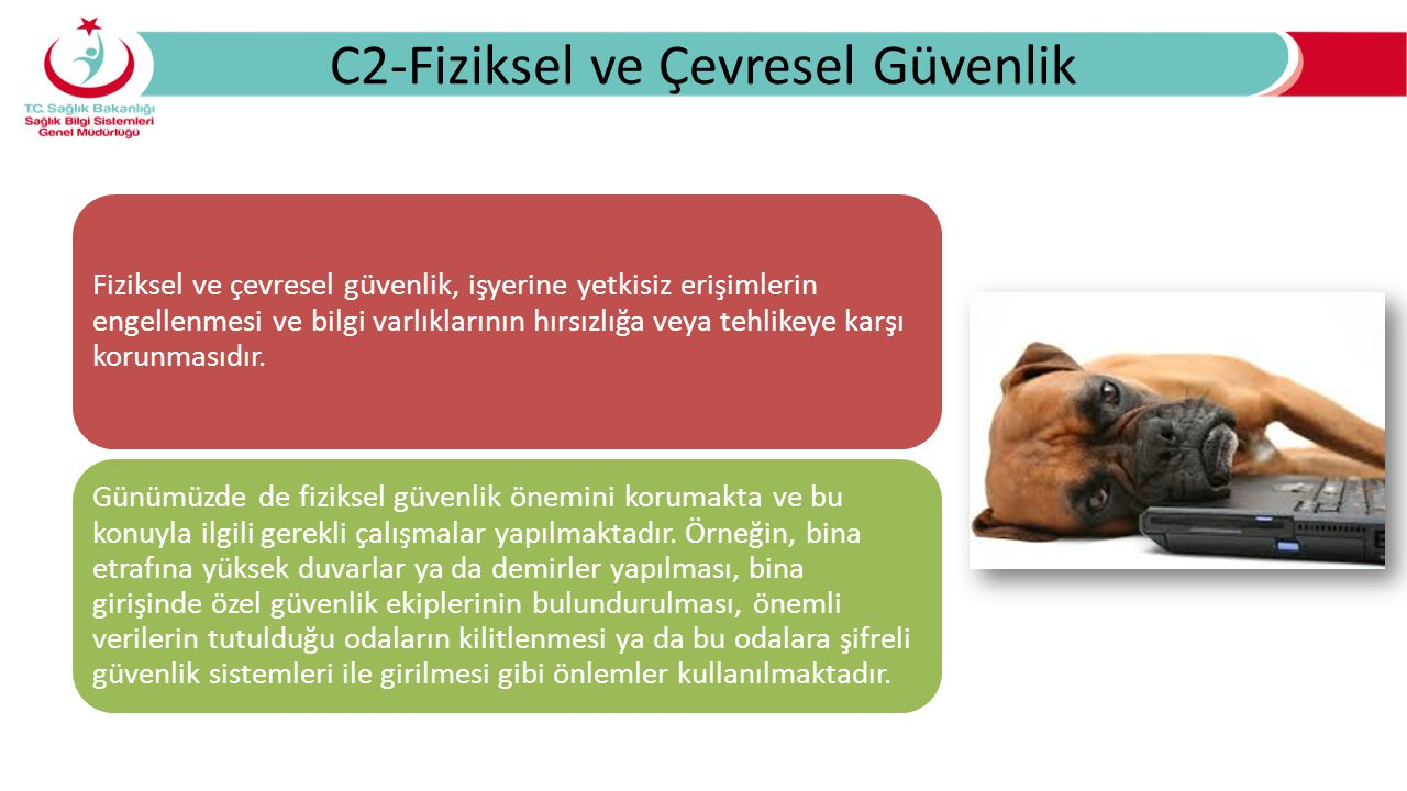C2-Fiziksel ve Çevresel Güvenlik