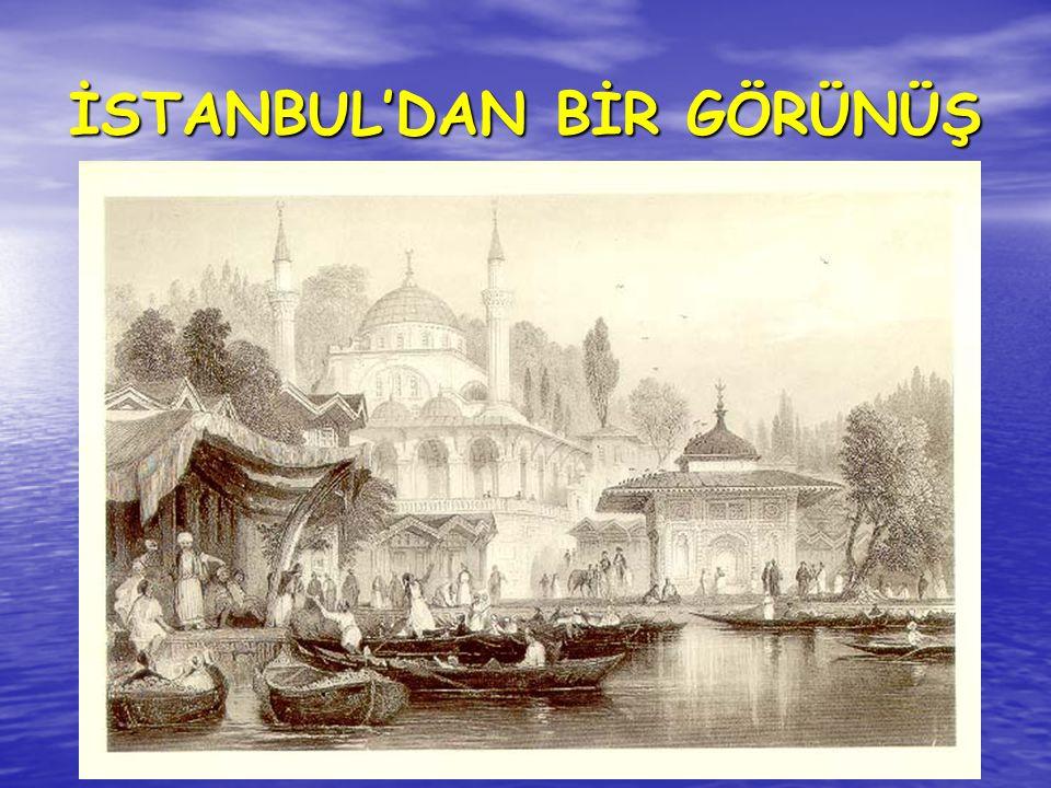 İSTANBUL'DAN BİR GÖRÜNÜŞ