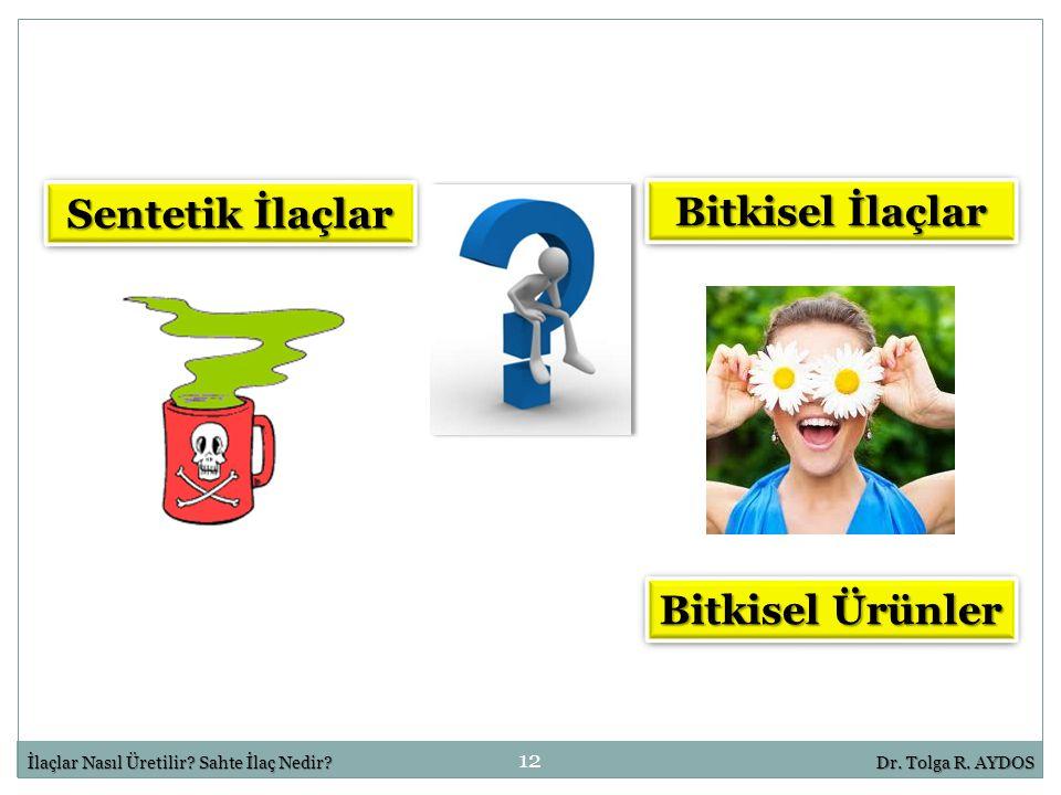 Sentetik İlaçlar Bitkisel İlaçlar Bitkisel Ürünler