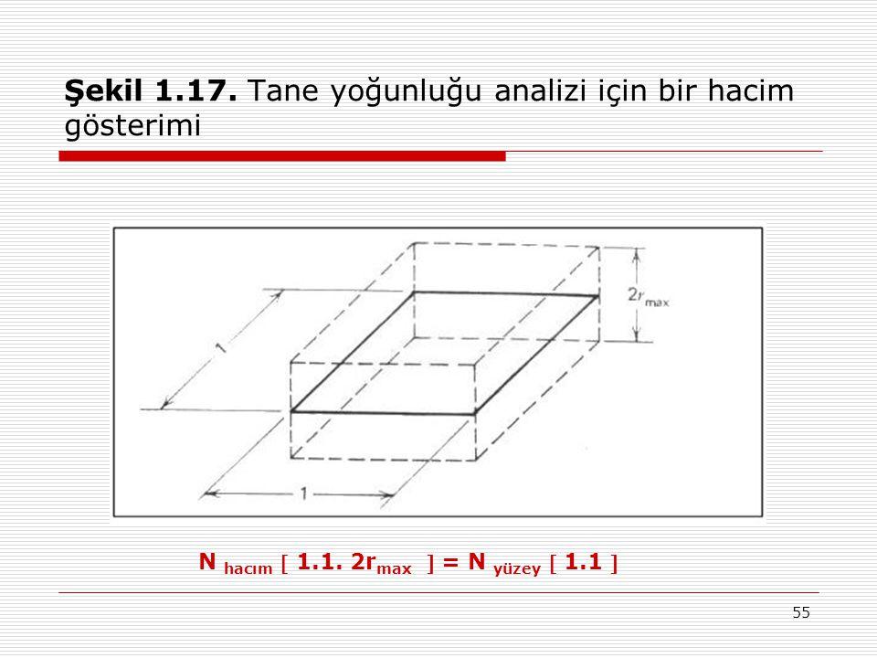 Şekil 1.17. Tane yoğunluğu analizi için bir hacim gösterimi