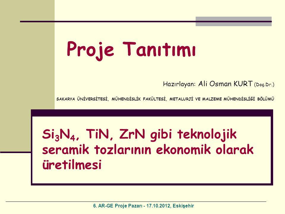 6. AR-GE Proje Pazarı - 17.10.2012, Eskişehir