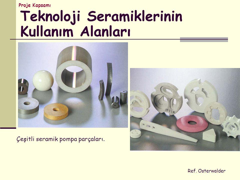 Teknoloji Seramiklerinin Kullanım Alanları