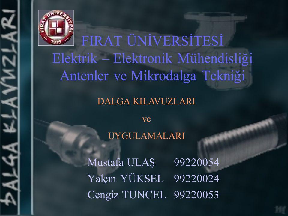Mustafa ULAŞ 99220054 Yalçın YÜKSEL 99220024 Cengiz TUNCEL 99220053