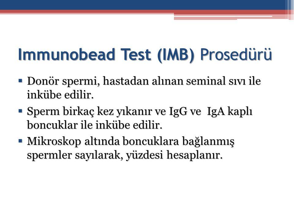 Immunobead Test (IMB) Prosedürü